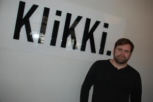 Bernt Johansson på KliKKI. Foto:Almkvist