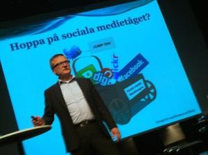 Niklas Myhr siar om framtiden