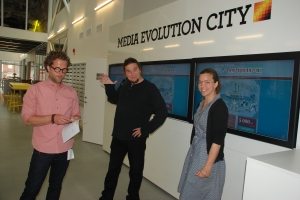 På besök hos Media Evolution