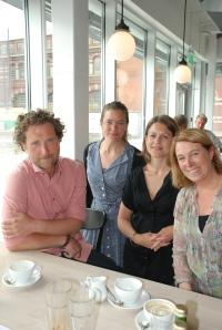 Möte med Magnus Thure Nilsson, Sara Ponnert och Emma Estborn, Media Evolution