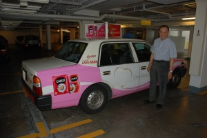 "Taxichauffören ""underbar"" i Singapore"