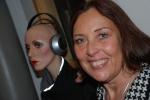 Katarina på Sonic Studio/ Interactiva Institutet